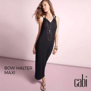 Cabi black maxi dress